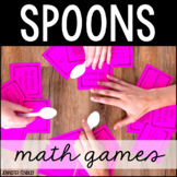 Spoons Games | Math Games ONLY | 26 Math Games