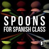 Game: Spoons for Spanish classes