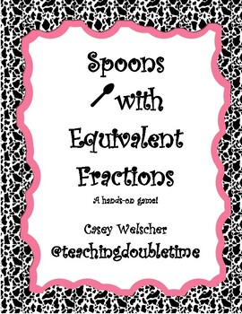 Spoons with Equivalent Fractions