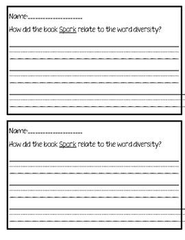 Spork Activity Sheet