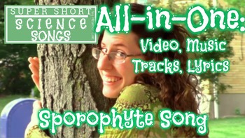 """""""Sporophyte Song"""" All-in-One: Video, Music Tracks, and Lyrics"""