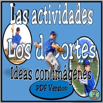 Sport Activity Photo Images PDF version / Imágenes de actividades de deportes