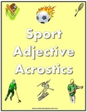 Sport Adjective Acrostics Plus