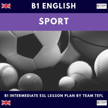 Sport B1 Intermediate Lesson Plan For ESL