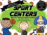 Sport Centers: Common Core Math Centers Pack