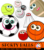 Sport Clip Art Cartoon Characters