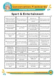 Sport & Entertainment - Conversation Flashcards