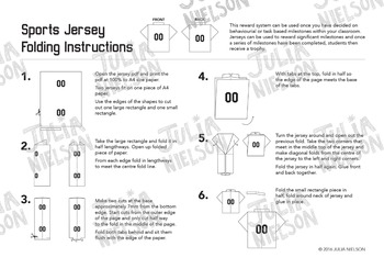 Sport Jersey Reward System in Black and White