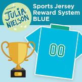 Sport Jersey Reward System in Blue
