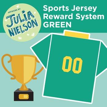 Sport Jersey Reward System in Green