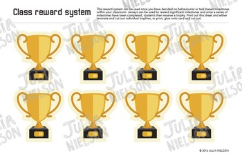 Sport Jersey Reward System in Red