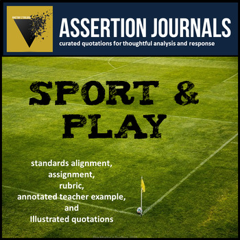 Sport & Play: Assertion Journal Prompts About Competition