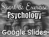 Sport Psychology PPT - Fully Editable!
