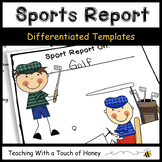 Informative Writing Templates | Sports Activities | Sports