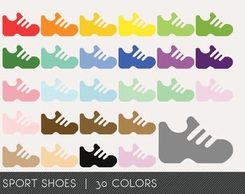 Sport SHoes Digital Clipart, Sport SHoes Graphics, Sport S
