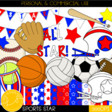 Sport Star Clip Art Collection