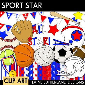 Sport Star Clip Art Collection