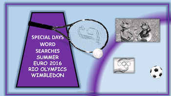 Sport, Summer and Special Days 2016