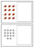 Sport Theme 1 - 20 Number Acitivity Cards