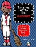 Sport Theme Classroom Decor Pack