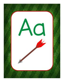 Sport Themed Alphabet