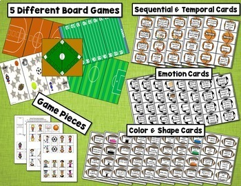 Basic Concepts Games - Sports Themed