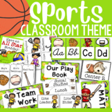 Sport Theme: Classroom Decor and Organizational Pack