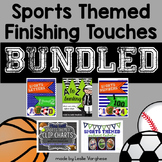 Sport Themed Classroom Finishing Touches: The Bundle