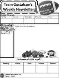 Sport Themed-Newsletter (editable)