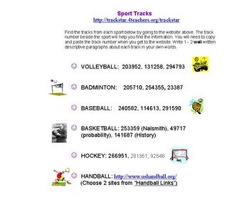 Sport Tracks