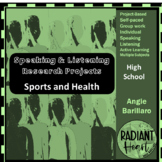 Speaking & Listening Research Project: Sport and Health VCAL RESOURCES