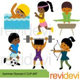 Sport clip art - Summer Olympic clipart