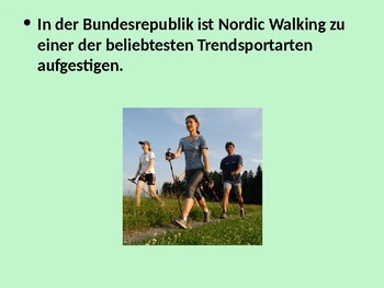 Sport in Deutschland / Sport in Germany