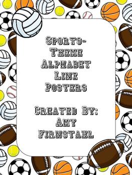 Sports-theme Alphabet Posters!