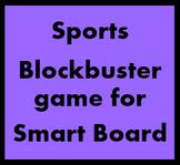 Sportarten (Sports in German) Blockbuster for Smartboard