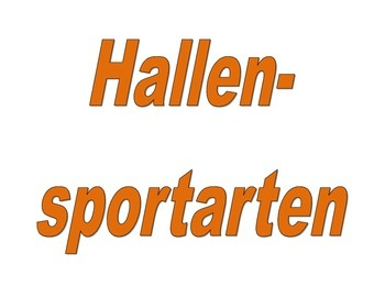 Sportarten (Sports in German) activities packet