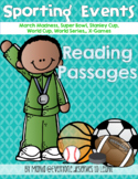 Sports Reading Comprehension Passages and Questions