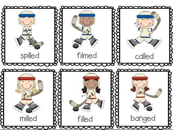 Sporting Suffixes (s, es, ing, ed, er, and est activity pack)