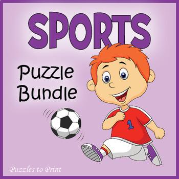 Sports Word Search Bundle