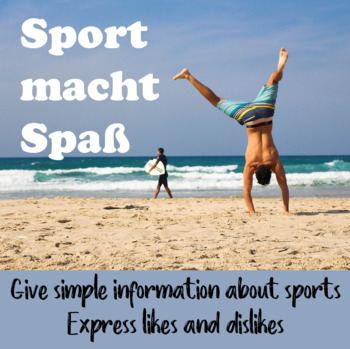 Sports - Give simple information in German