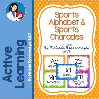 Sports Alphabet Games