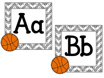 Sports Alphabet Headers Combo Pack