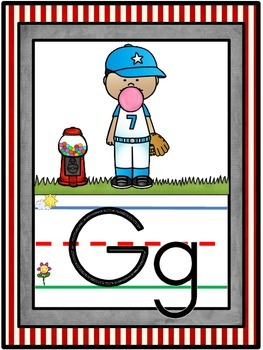 Sports Alphabet Line Classroom Decor