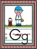 Sports Alphabet Line Classroom Decor