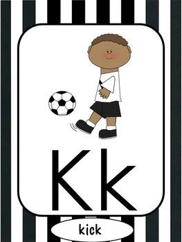 Sports Alphabet Set