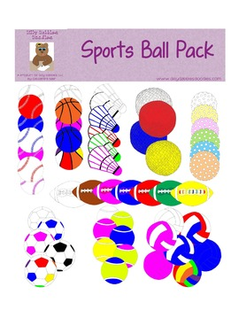 Sports Ball Pack Digital Graphics