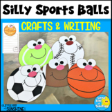 Sports Balls Crafts with Writing