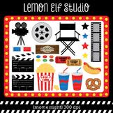Movie Night-Digital Clipart (LES.CL27A)