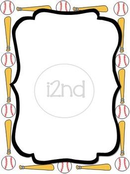 Sports Baseball Frame