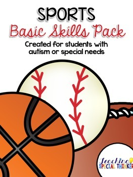 Sports Basic Skills Activity Pack (for students with Autis